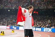 BEIJING 2015-08-30<br /> VM FRIIDROTT BEIJING NATIONAL STADIUM<br /> Derek Drouin, h&ouml;jdhopp