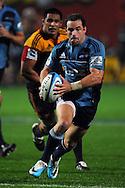 Alby Mathewson in action. Investec Super Rugby - Chiefs v Blues, Waikato Stadium, Hamilton, New Zealand. Saturday 26 March 2011. Photo: Andrew Cornaga / photosport.co.nz