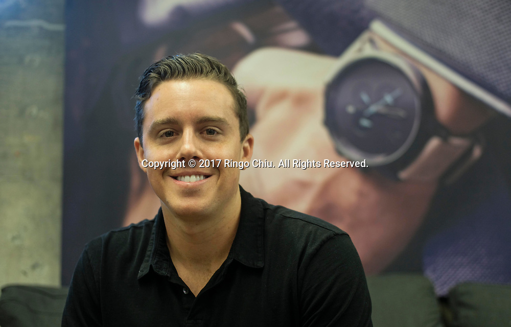 Kramer LaPlante, co-founder of MVMT Watches.(Photo by Ringo Chiu)<br /> <br /> Usage Notes: This content is intended for editorial use only. For other uses, additional clearances may be required.