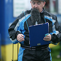 Commentator Tom O' Callaghan at the annual Lisdoonvarna Races at the weekend.<br />