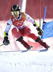 February 15, 2018 - Pyeongchang, South Korea - MARYNA GASIENICA-DANIEL of Poland on her first run at the Womens Giant Slalom event Thursday, February 15, 2018 at the Yongpyang Alpine Centerl at the Pyeongchang Winter Olympic Games.  Photo by Mark Reis, ZUMA Press/The Gazette (Credit Image: © Mark Reis via ZUMA Wire)