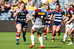 Kayleigh Armstrong of Bristol Ladies - Rogan Thomson/JMP - 23/04/2017 - RUGBY UNION - Sixways Stadium - Worcester, England - Bristol Ladies Rugby v Aylesford Bulls - Women's Premiership Final.