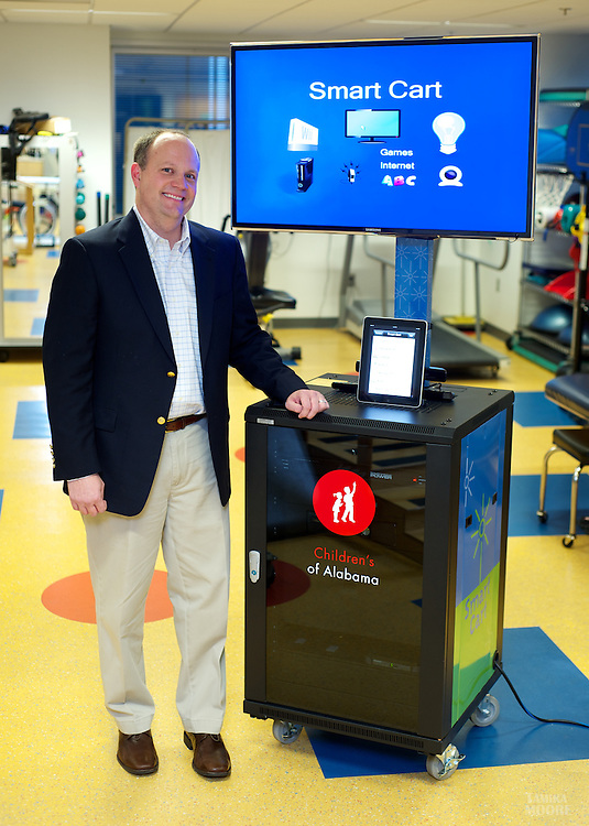 Kevin Braswell .Smart Cart at Children's Hospital .