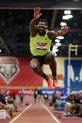 2020 USATF Indoor Championship<br /> Albuquerque, NM 2020-02-15<br /> photo credit: © 2020 Kevin Morris<br /> mens triple jump, asics