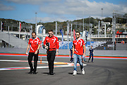 October 8, 2015: Russian GP 2015: Will Stevens (GBR) Manor Marussia F1 Team