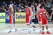 Delusione Milano, EA7 Emporio Armani Milano vs Germani Basket Brescia - 12 giornata Campionato LBA 2017/2018, Milano Mediolanum Forum 26 dicembre 2017 - foto BERTANI/Ciamillo