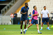 Chelsea defender Antonio Rudiger (2) during the Chelsea Training session ahead of the 2019 UEFA Super Cup Final between Liverpool FC and Chelsea FC at BJK Vodafone Park, Istanbul, Turkey on 13 August 2019.