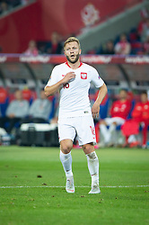 October 11, 2018 - Chorzow, Slask, Poland - Jakub Blaszczykowski during the UEFA Nations League A soccer match between Poland and Portugal at Silesian Stadium in Chorzow, Poland on 11 October 2018  (Credit Image: © Mateusz Wlodarczyk/NurPhoto via ZUMA Press)