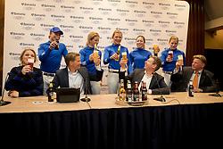 Bavaria 0.0 Eventing Team, Pen Elaine, Wilken Jordi, Larisa Hartkamp, De Jong Sanne, Van de Kuylen Joyce , De Vries Lotte, Lips Tim, Pieter Swinkels, Martin Lips <br /> © Hippo Foto - Dirk Caremans<br /> 15/02/2017