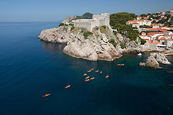 Europe, Croatia, Dubrovnik, a UNESCO World Heritage Site