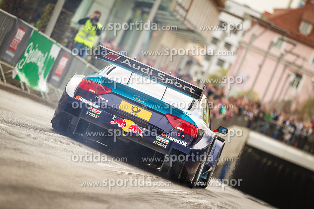 05.04.2014, Innenstadt, Graz, AUT, Saisoneroeffnung Spielberg in Graz, im Bild Mattias Ekstroem im Audi DTM // during the Spielberg in Graz Season Opening for the Red Bull Ring at the City Center, Graz, Austria on 2014/04/05. EXPA Pictures © 2014, PhotoCredit: EXPA/ M. Kuhnke