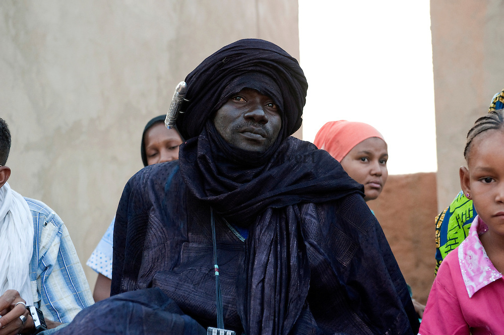 Mohammed aka Boss, chief of a ghetto for African migrants in Agadez.