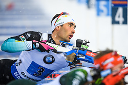 March 16, 2019 - –Stersund, Sweden - 190316 Martin Fourcade of France  competes in the Men's 4x7,5 km Relay during the IBU World Championships Biathlon on March 16, 2019 in Östersund..Photo: Petter Arvidson / BILDBYRÃ…N / kod PA / 92269 (Credit Image: © Petter Arvidson/Bildbyran via ZUMA Press)