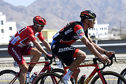 February 15, 2018 - Muscat, Oman - HAAS Nathan of Team Katusha - Alpecin, VAN AVERMAET Greg  (BEL)  of BMC Racing Team during stage 3 of the 9th edition of the 2018 Tour of Oman cycling race, a stage of 179.5 kms between German University of Technology and Wadi Dayqah Dam on February 15, 2018 in Muscat, Sultanate Of Oman, 15/02/2018 (Credit Image: © Panoramic via ZUMA Press)