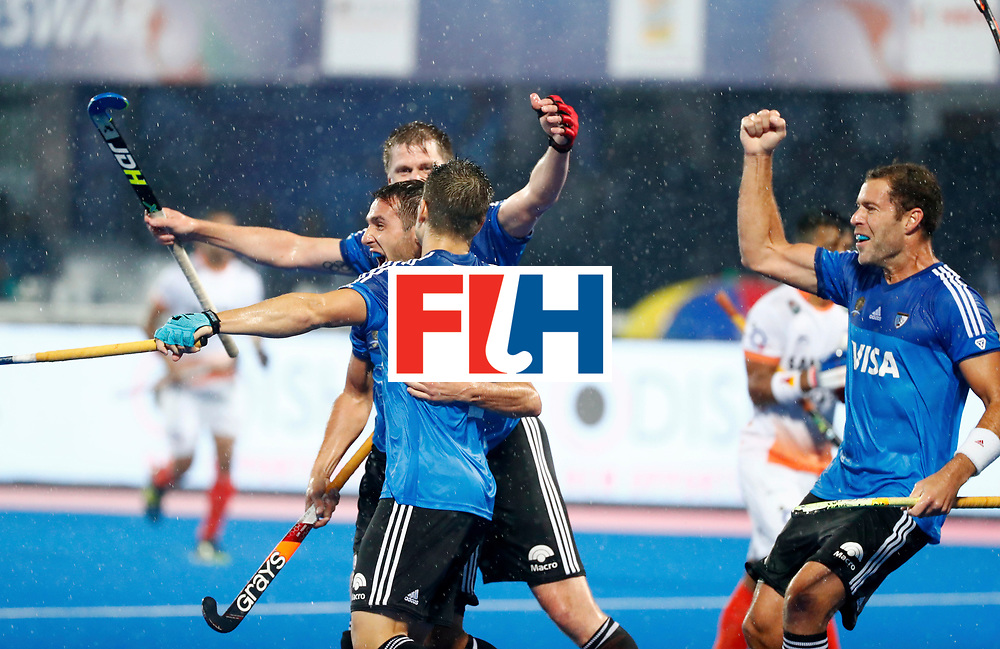 Odisha Men's Hockey World League Final Bhubaneswar 2017<br /> Match id:10<br /> India v Argentina<br /> Foto: Gonzalo Peillat (Arg) scored 0-1<br /> COPYRIGHT WORLDSPORTPICS KOEN SUYK