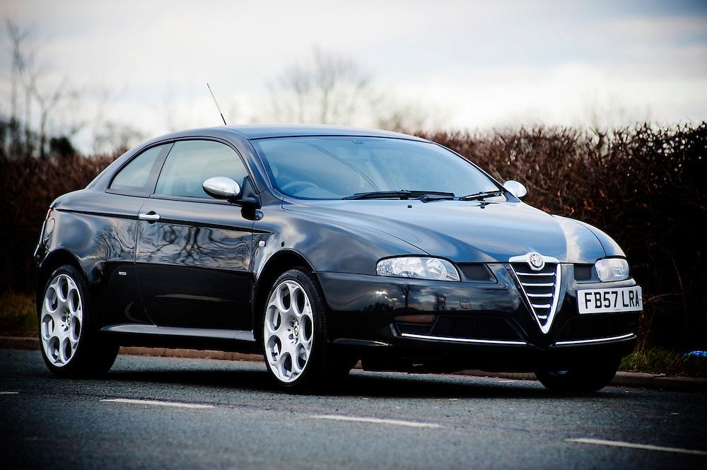 Alfa Romeo GT 1.8TS Blackline, England, UK.