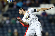 13 December 2013: Notre Dame's Andrew O'Malley (12). The University of Notre Dame Fighting Irish played the University of New Mexico Lobos at PPL Park in Chester, Pennsylvania in a 2013 NCAA Division I Men's College Cup semifinal match. Notre Dame won the game 2-0.