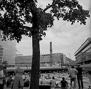 Black and White photography.  WORLDWIDE COPYRIGHT © Romano P. Riedo   fotopunkt.ch... Daily Life. Travelling Europe: Stockholm, Sweden. © Romano P. Riedo