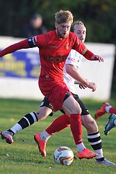 Joe Burgess Captain Ilkestone, Cambridge City v Ilkestone FA Trophy 1st Qualifying Round, Westwood Road St Ives Ground, Saturday  31st October 2015 <br /> (Sore Cambridge 0- Ilkestone 1)