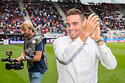 ALKMAAR - 28-08-2016, AZ - NEC, AFAS Stadion, 2-0, afscheidVincent Janssen.