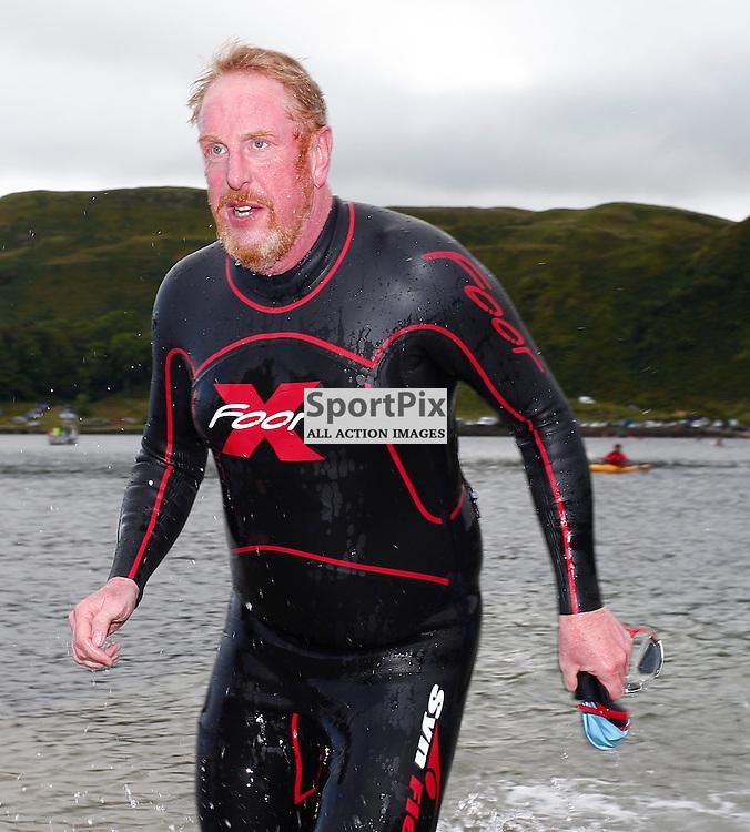 CRAGGY ISLAND TRIATHLON..... Martin Hadleigh competing in Craggy Island Triathlon..(c) STEPHEN LAWSON | SportPix.org.uk