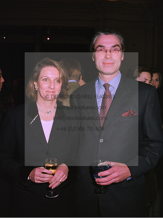 PRINCE & PRINCESS JOHANNES AUERSPERG at a party in London on 25th November 1997.MDR 24