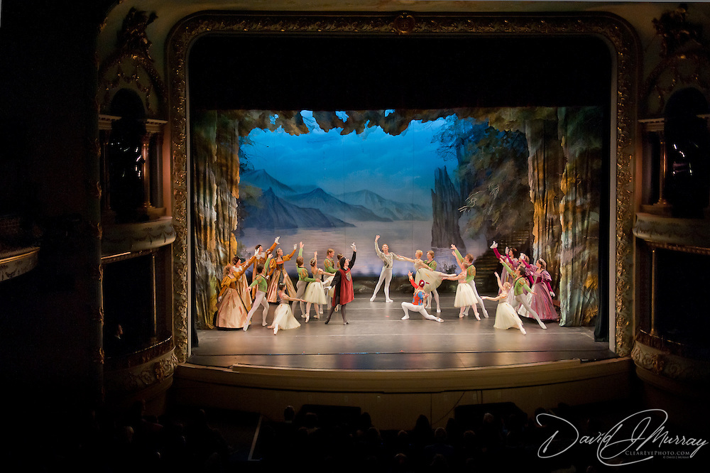 Russian National Ballet Theatre perform Swan Lake at The Music Hall, Portsmouth, NH, April 2011