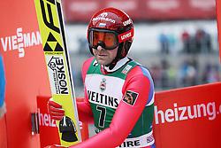 03.02.2017, Heini Klopfer Skiflugschanze, Oberstdorf, GER, FIS Weltcup Ski Sprung, Oberstdorf, Skifliegen, im Bild Dimitry Vassiliev (RUS) // Dimitry Vassiliev (RUS) during mens FIS Ski Flying World Cup at the Heini Klopfer Skiflugschanze in Oberstdorf, Germany on 2017/02/03. EXPA Pictures © 2017, PhotoCredit: EXPA/ Sammy Minkoff<br /> <br /> *****ATTENTION - OUT of GER*****