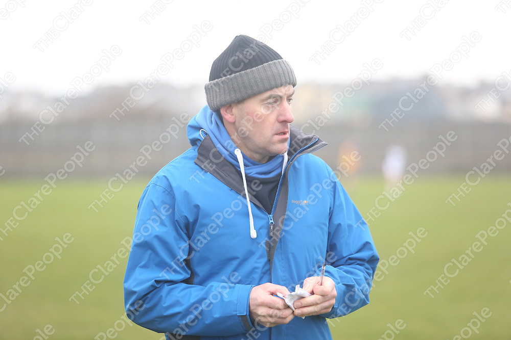 The Clare manager John Burke as they played Kildare in Miltown on Sunday.<br /> Pic. Brian Arthur/ Press 22.