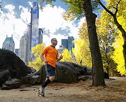 02-11-2013 ALGEMEEN: BVDGF NY MARATHON: NEW YORK <br /> Parcours verkenning en laatste training in het Central Park / Thijs<br /> ©2013-FotoHoogendoorn.nl