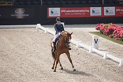Verwey Mercedes, (NED), Zarah<br /> Roelofsen Horse Trucks Prijs - Juniors Team Test<br /> Dutch Championship Dressage - Ermelo 2015<br /> © Hippo Foto - Dirk Caremans<br /> 17/07/15