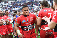 Joie Chris Masoe - 19.04.2015 - Toulon / Leinster - 1/2Finale European Champions Cup -Marseille<br /> Photo : Andre Delon / Icon Sport