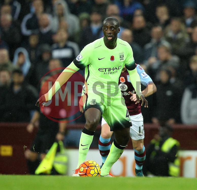 Manchester City's Yaya Toure - Mandatory byline: Robbie Stephenson/JMP - 07966 386802 - 08/11/2015 - FOOTBALL - Villa Park - Birmingham, England - Aston Villa v Manchester City - Barclays Premier League