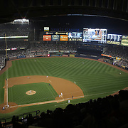 A general view of the action in Yankee Stadium during the New York Yankees V Boston Red Sox Baseball game won by the Yankees 14-2 to become American League East champions at Yankee Stadium, The Bronx, New York. 4th October 2012. Photo Tim Clayton