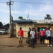 'Africa Drive-by' a photo book published in 2017. <br /> <br /> The images were captured from the back of police motorcades and security vehicles in eight southern African countries in spring and summer, 2017.<br /> <br /> Photo shows: Mozambique.<br /> <br /> It was self-published the same year in an edition of 250.
