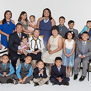 Macie Chervunkong, Family Portraits, Extended Family Group Photo, Generational, Multi Family, 2017