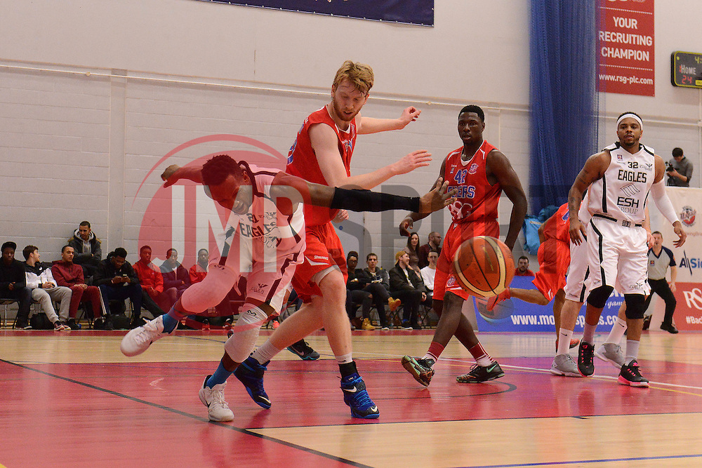 - Mandatory byline: Dougie Allward/JMP - 06/02/2016 - FOOTBALL - SGS Wise Campus - Bristol, England - Bristol Flyers v Newcastle Eagles - British Basketball League