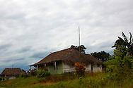 Houses in the Macurije area, Pinar del Rio, Cuba.