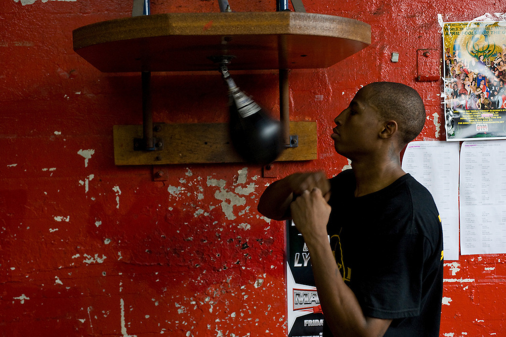 Gleason's Gym, Dumbo, Brooklyn, New York...