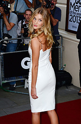 GQ Men of the Year Awards 2013.<br /> Rosie Huntington-Whiteley during the GQ Men of the Year Awards, the Royal Opera House, London, United Kingdom. Tuesday, 3rd September 2013. Picture by Nils Jorgensen / i-Images