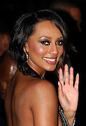 Keri Hilson attends the 2009 Victoria's Secret Runway show at the 26th St Armory in New York City on November 19, 2009.