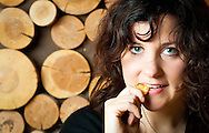 "Amy Millan poses for portraits at the Doug Fir Lounge in Portland during a tour to promote her solo album ""Masters of the Burial."""