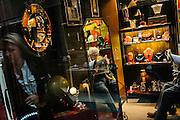 A jewellery shop inside the Burlington Arcade next to Bond Street.