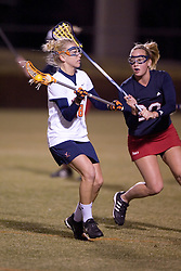 Virginia Cavaliers A Megan O'Malley (28)<br /> <br /> The Virginia Cavaliers Women's Lacrosse team defeated the Richmond Spiders 13-5 at Kl?ckner Stadium in Charlottesville, VA on February 28, 2007.