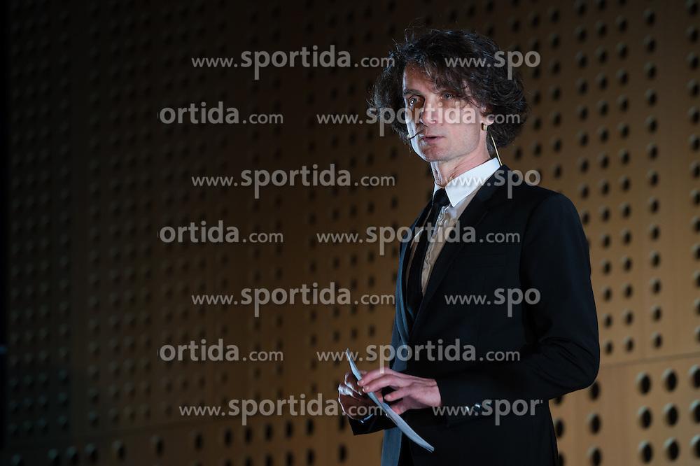Jure Longyka at 52th Annual Awards of Stanko Bloudek for sports achievements in Slovenia in year 2016 on February 14, 2017 in Brdo Congress Center, Brdo, Ljubljana, Slovenia.  Photo by Martin Metelko / Sportida