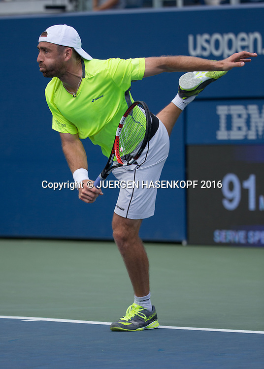 BENJAMIN BECKER (GER)<br /> <br /> Tennis - US Open 2016 - Grand Slam ITF / ATP / WTA -  USTA Billie Jean King National Tennis Center - New York - New York - USA  - 30 August 2016.