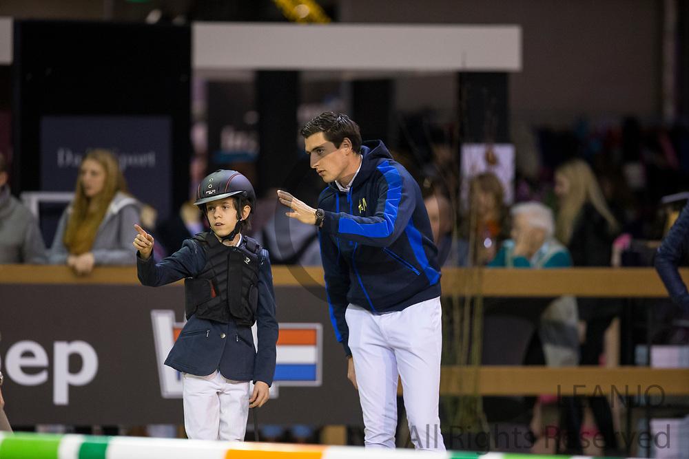 Yannick Janssen van Grunvsen - Nicola Philippaerts<br /> Indoor Brabant 2017<br /> © DigiShots