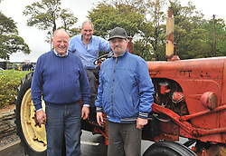 Liam Ryder, Michael McLoughlin and Jimmy Walsh at Murrisk Pattern Day on sunday last.<br /> Pic Conor McKeown