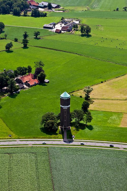 Nederland, Gelderland, Gemeente Berkelland, 30-06-2011; Achterhoek.watertoren omgeving Eibergen..Achterhoek, water tower, Eibergen area.luchtfoto (toeslag), aerial photo (additional fee required).copyright foto/photo Siebe Swa