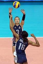 COURTNEY THOMPSON <br /> USA - CHINA <br /> FINAL VOLLEYBALL WOMEN'S WORLD CHAMPIONSHIP 2014<br /> MILAN (ITA) 12-10-2014<br /> PHOTO BY FILIPPO RUBIN